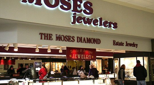 Moses Jewelers -  Butler Clearview Mall